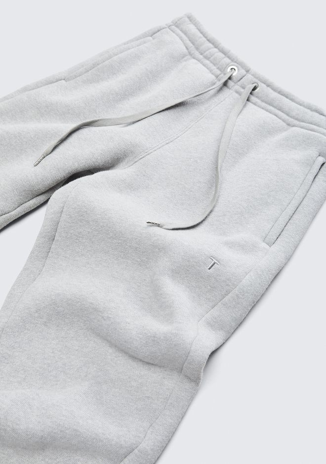 T by ALEXANDER WANG EXCLUSIVE DENSE FLEECE PANTS 裤装 Adult 12_n_a