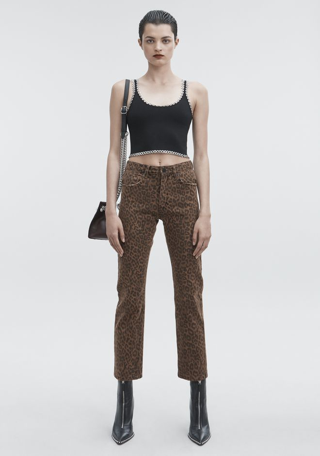 ALEXANDER WANG denim-x-aw CULT JEAN