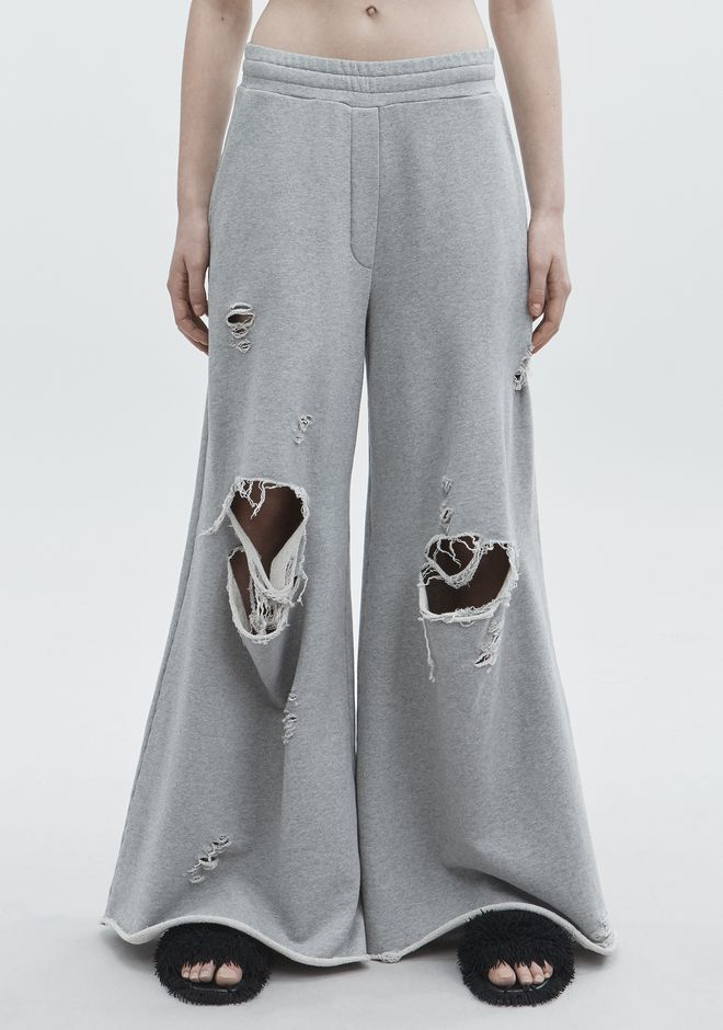 T by ALEXANDER WANG DISTRESSED SWEATPANTS  팬츠 Adult 12_n_a