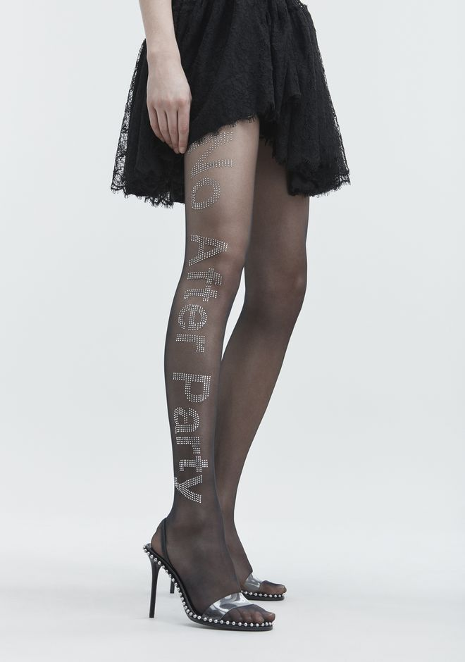 ALEXANDER WANG NO AFTER PARTY TIGHTS HOSEN Adult 12_n_e