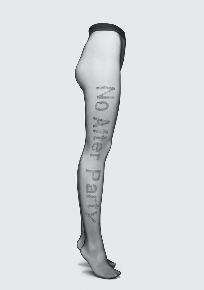 ALEXANDER WANG NO AFTER PARTY TIGHTS HOSEN Adult 12_n_f
