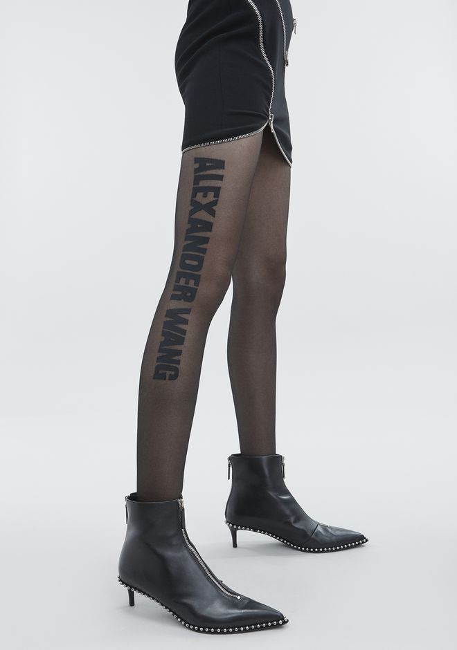 "ALEXANDER WANG ""ALEXANDER WANG"" TIGHTS PANTS Adult 12_n_e"