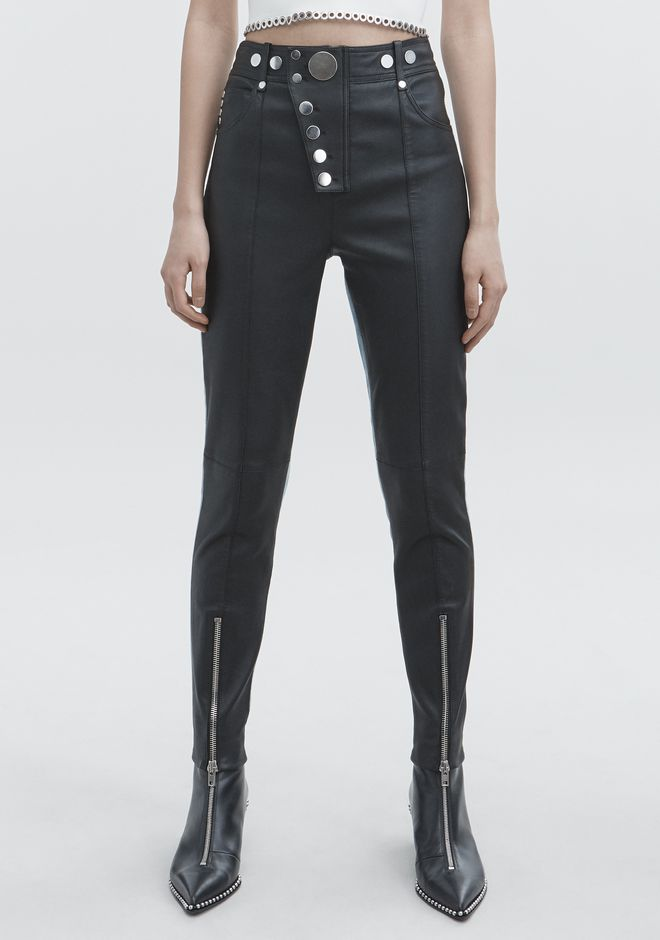 ALEXANDER WANG HYBRID LEGGINGS PANTS Adult 12_n_a