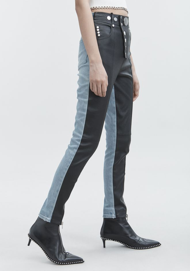 ALEXANDER WANG HYBRID LEGGINGS PANTS Adult 12_n_d
