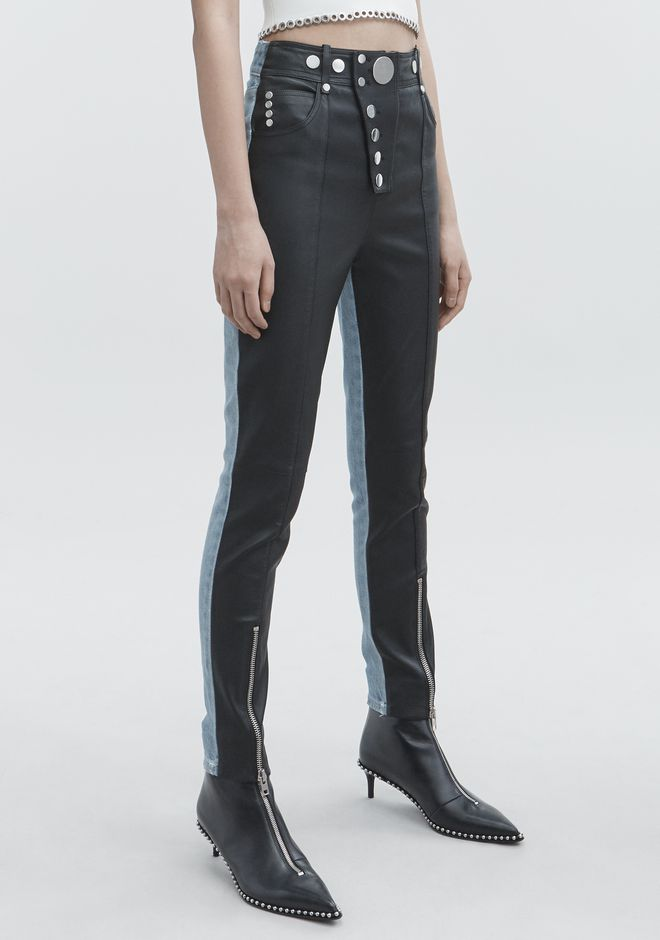 ALEXANDER WANG HYBRID LEGGINGS PANTS Adult 12_n_e