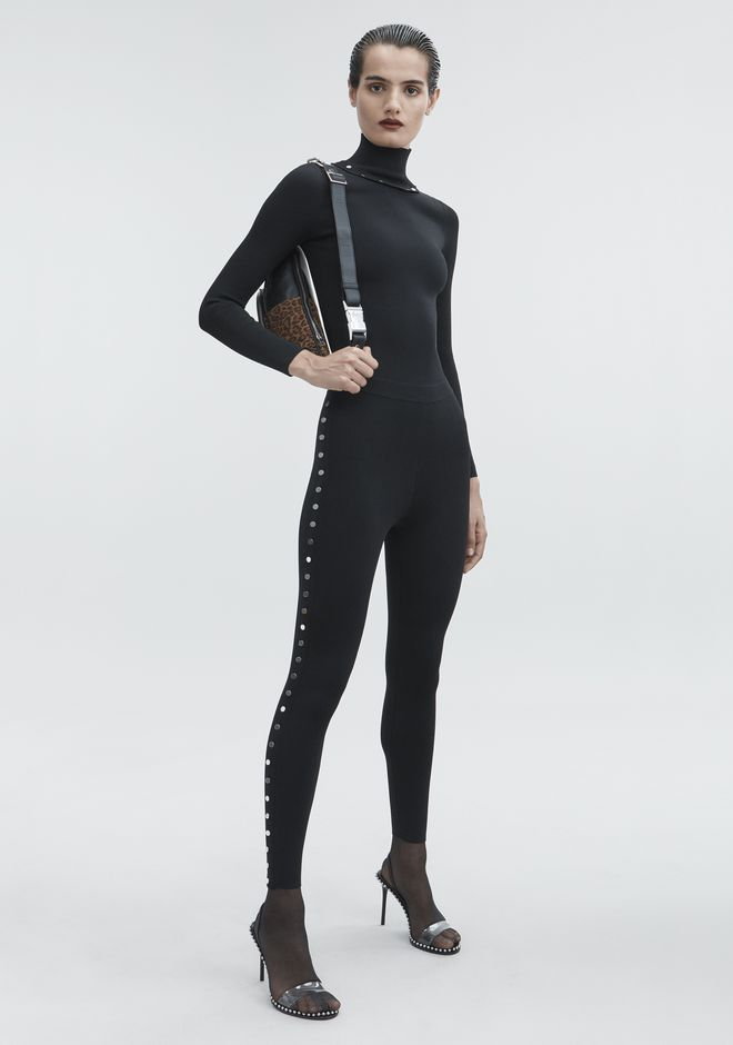 ALEXANDER WANG knitwear-ready-to-wear-woman SNAP LEGGINGS