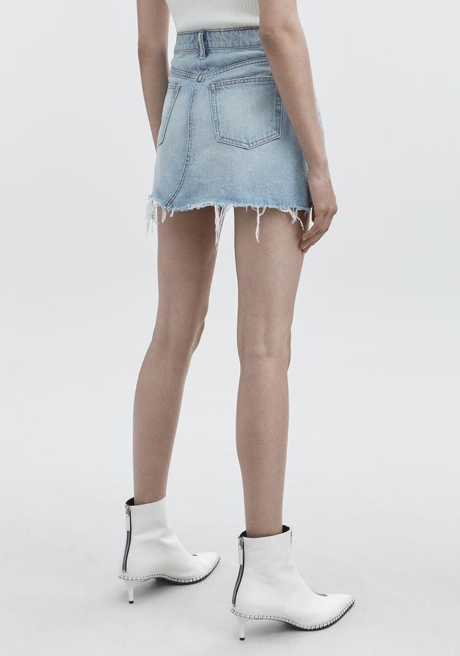 ALEXANDER WANG BITE SKIRT JEAN Adult 12_n_r