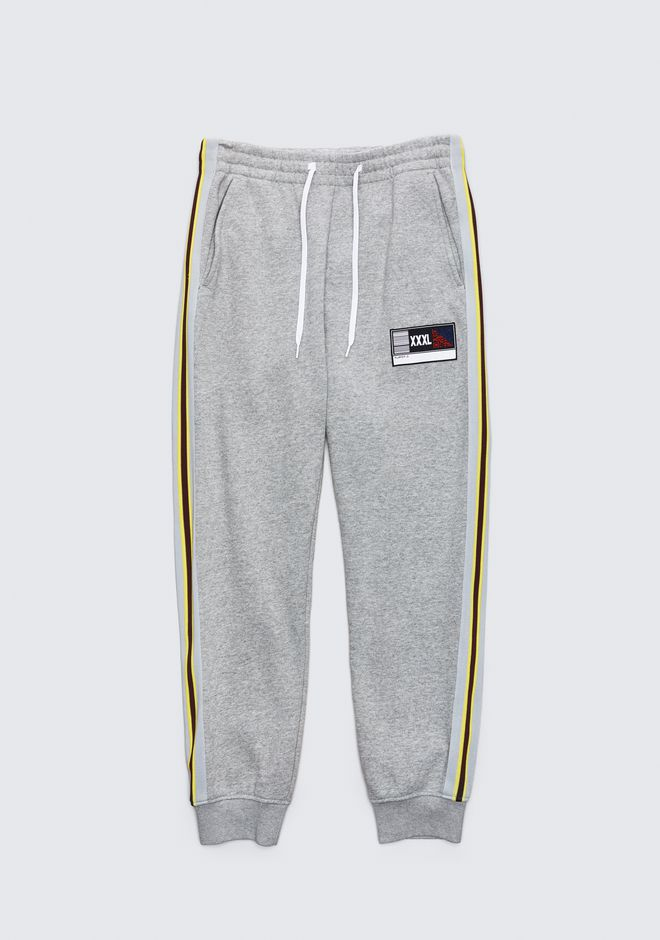 ALEXANDER WANG mens-new-apparel SPORT STRIPE SWEATPANTS