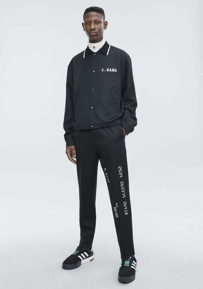 ALEXANDER WANG slbttmmn CREDIT CARD DRAWCORD TROUSER
