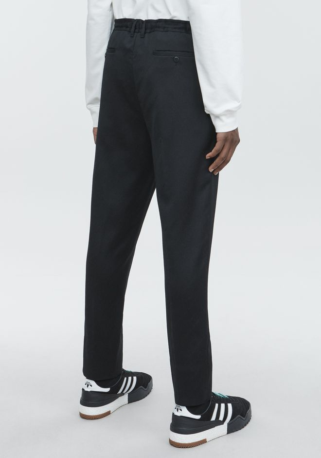 ALEXANDER WANG CREDIT CARD DRAWCORD TROUSER PANTS Adult 12_n_r