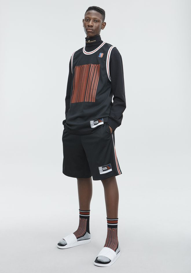 ALEXANDER WANG ready-to-wear-sale JERSEY SPORT SHORTS