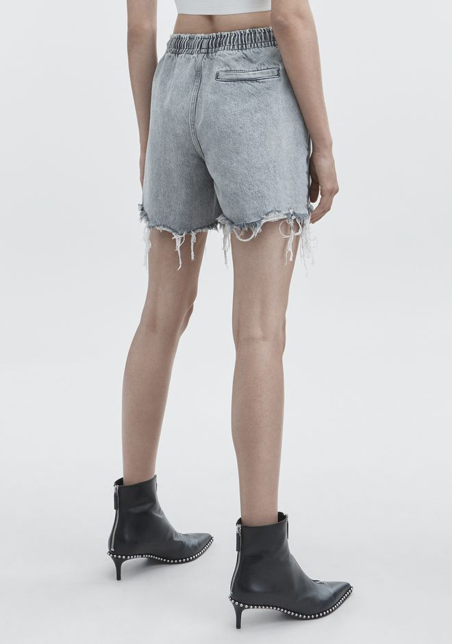 ALEXANDER WANG JOGGER SHORTS DENIM Adult 12_n_r