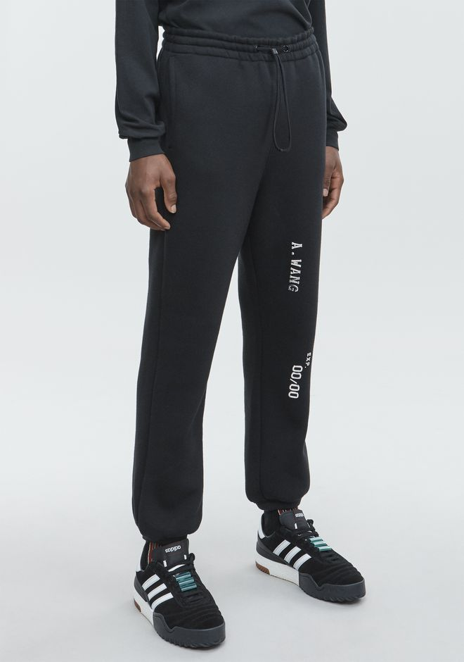 ALEXANDER WANG CREDIT CARD SWEATPANTS PANTS Adult 12_n_a