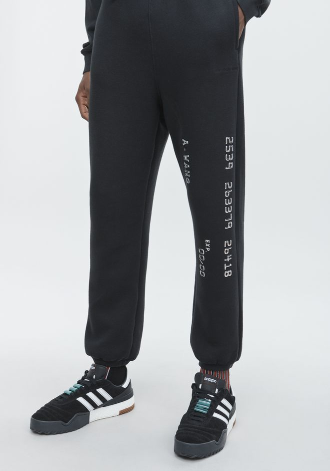 ALEXANDER WANG CREDIT CARD SWEATPANTS PANTS Adult 12_n_r