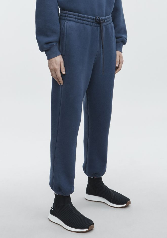 ALEXANDER WANG DRAWCORD SWEATPANT PANTS Adult 12_n_e