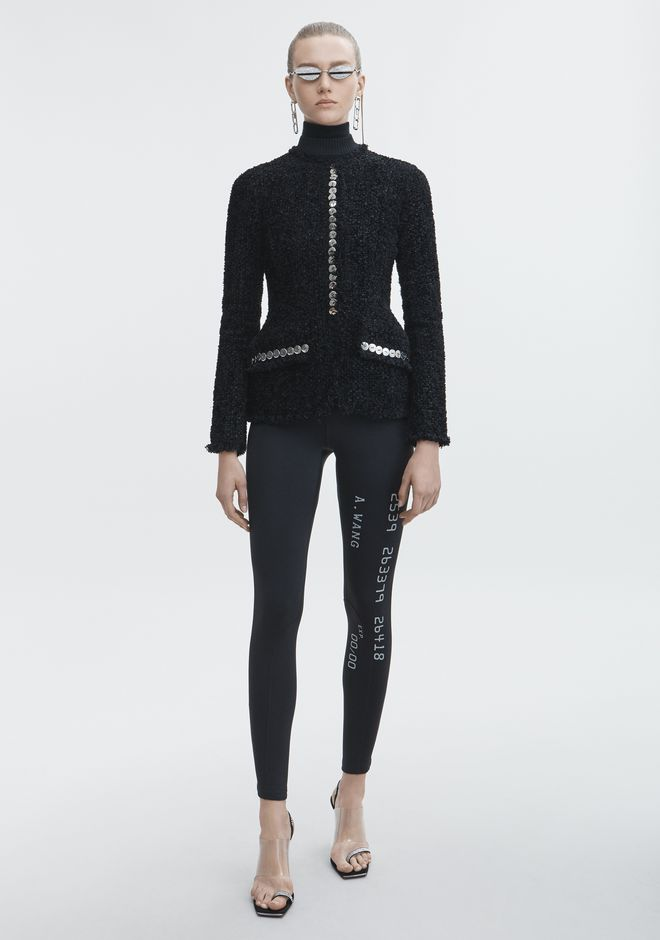 ALEXANDER WANG new-arrivals-ready-to-wear-woman SCUBA LEGGING
