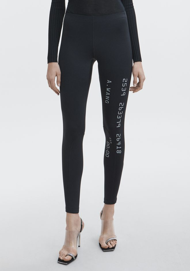 ALEXANDER WANG SCUBA LEGGING  PANTS Adult 12_n_a