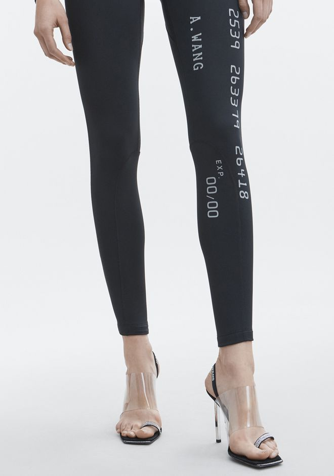 ALEXANDER WANG SCUBA LEGGING  PANTS Adult 12_n_d