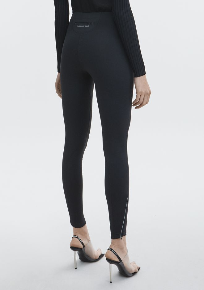 ALEXANDER WANG SCUBA LEGGING  PANTS Adult 12_n_r