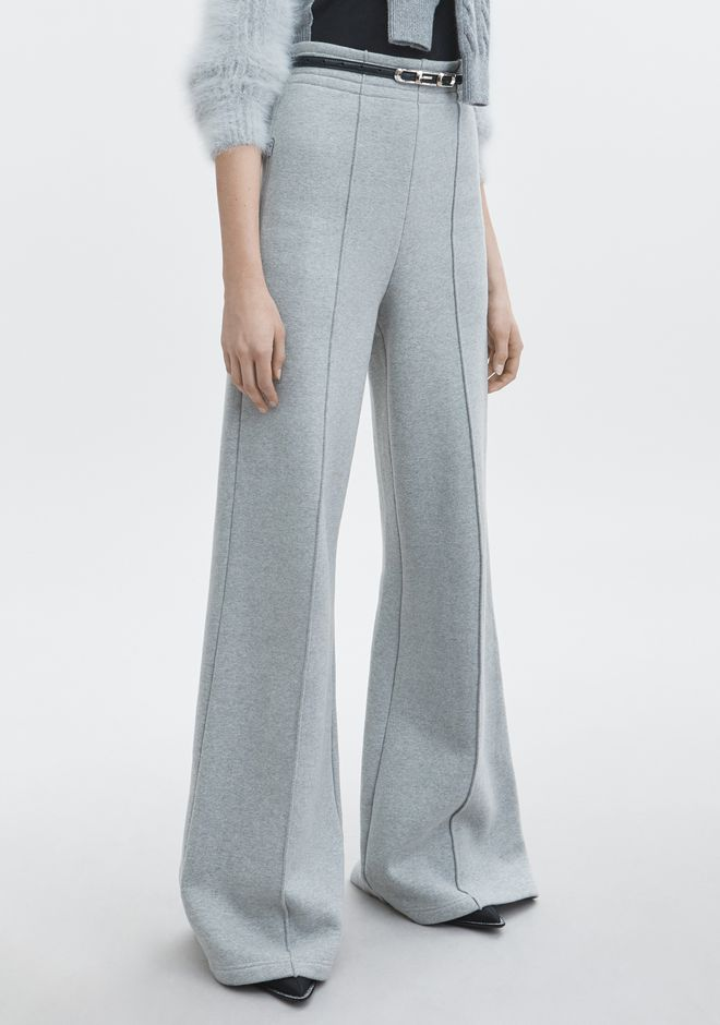 T by ALEXANDER WANG HIGH-WAIST PULL ON PANT PANTS Adult 12_n_e