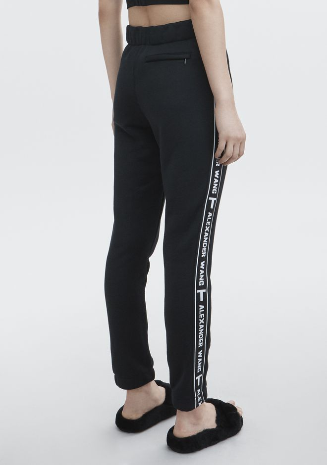 T by ALEXANDER WANG LOGO TAPE TRACK PANT PANTS Adult 12_n_r