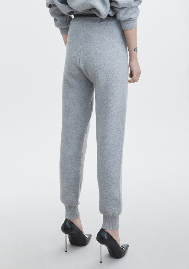 ALEXANDER WANG PLATINUM SWEATPANT  PANTS Adult 12_n_r