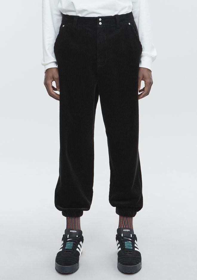 ALEXANDER WANG CORDUROY TROUSER PANTS Adult 12_n_a
