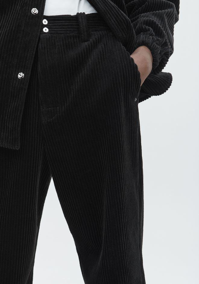 ALEXANDER WANG CORDUROY TROUSER PANTS Adult 12_n_d