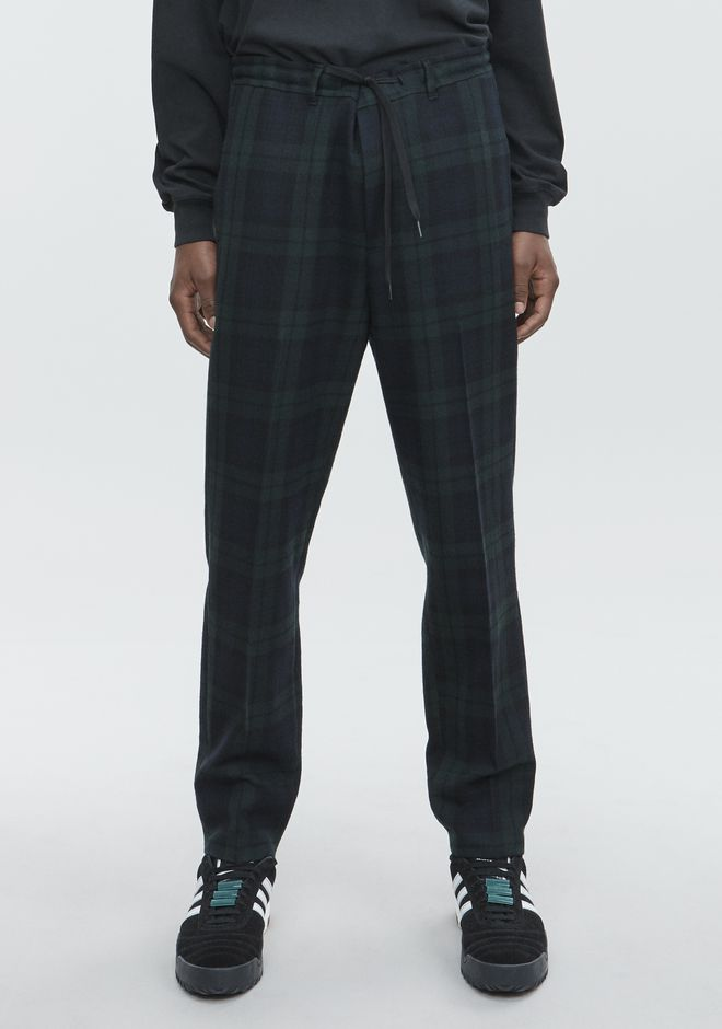 ALEXANDER WANG PLAID TROUSER  PANTS Adult 12_n_a