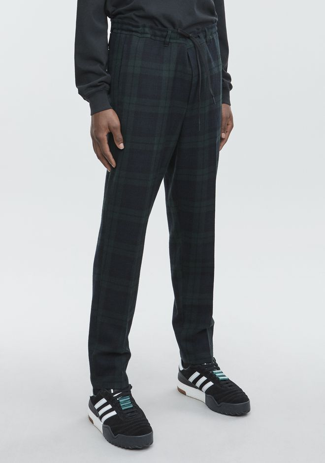 ALEXANDER WANG PLAID TROUSER  PANTS Adult 12_n_e
