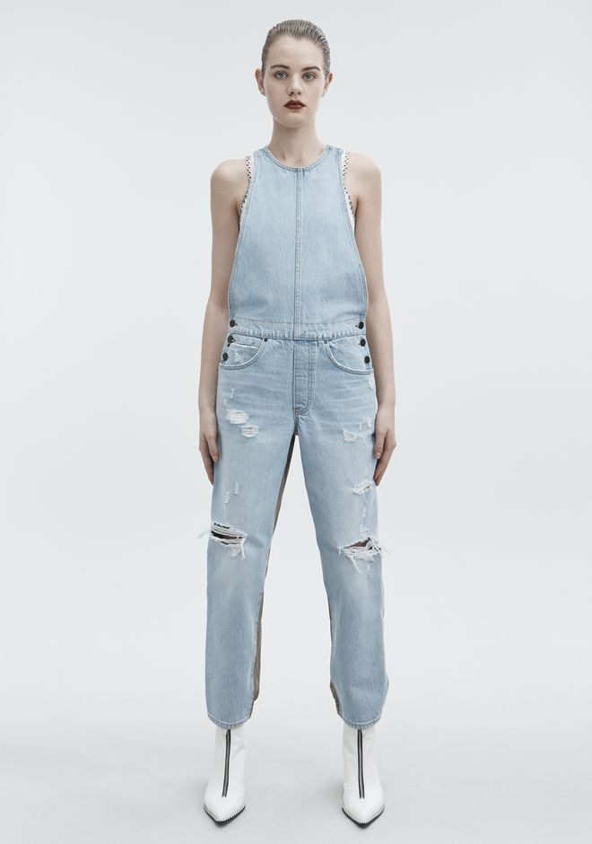 ALEXANDER WANG JUMP MIX BLEACH DENIM Adult 12_n_a