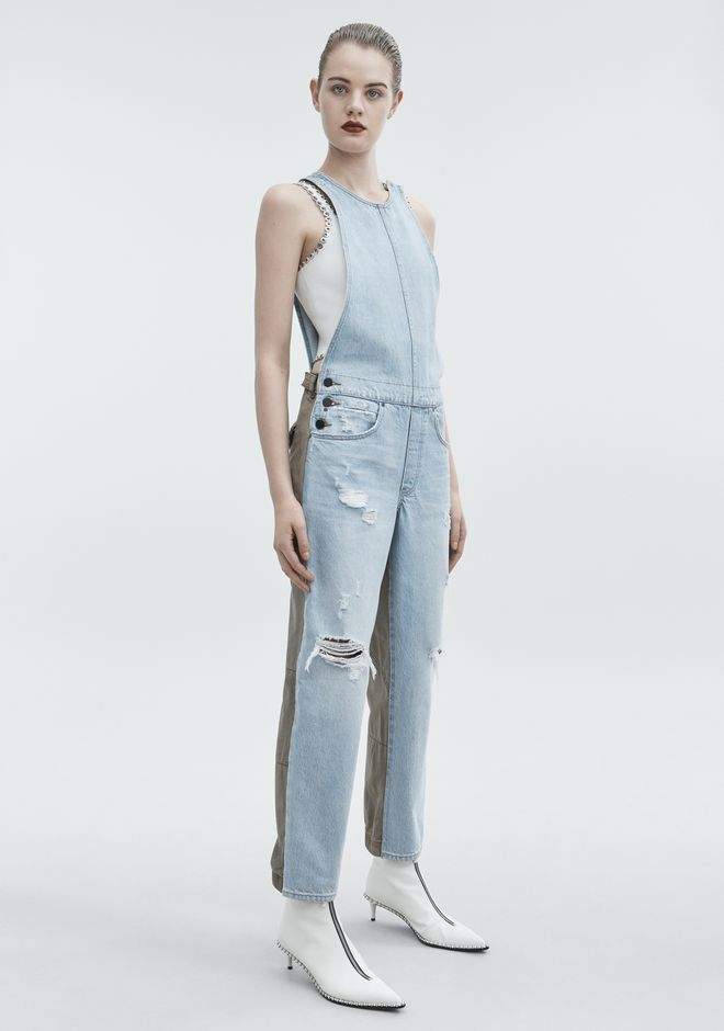 ALEXANDER WANG JUMP MIX BLEACH DENIM Adult 12_n_d