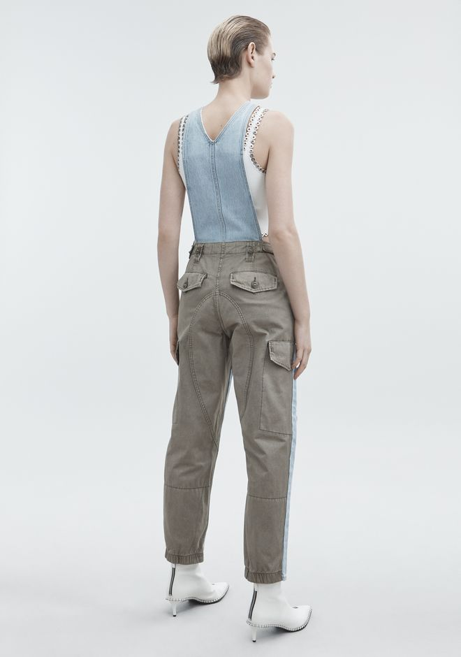 ALEXANDER WANG JUMP MIX BLEACH DENIM Adult 12_n_e