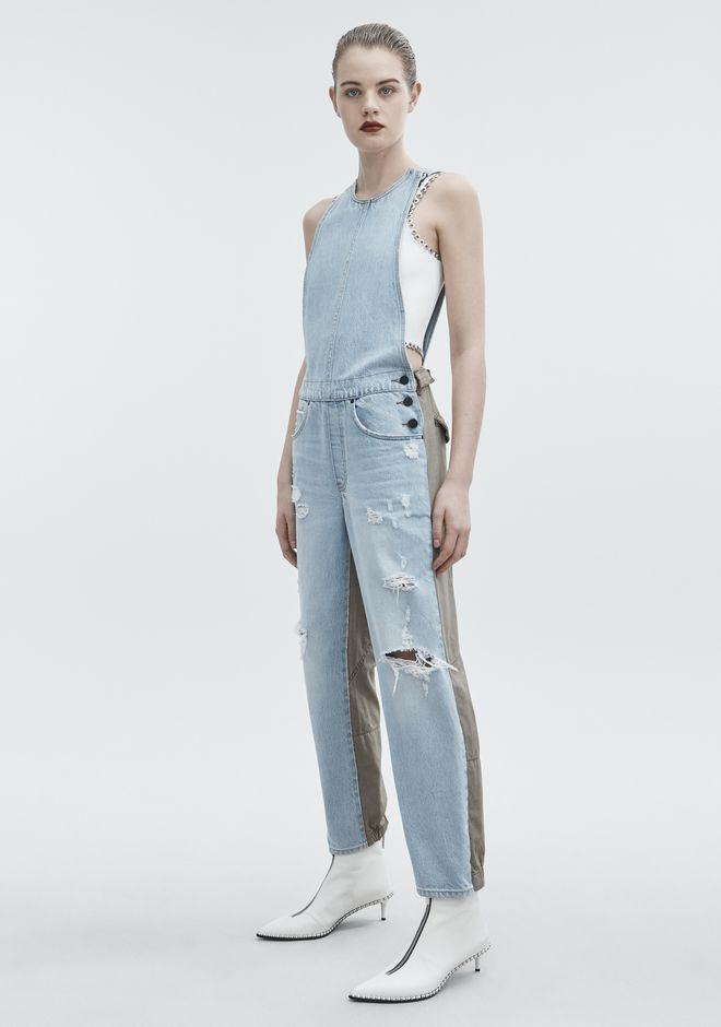 ALEXANDER WANG JUMP MIX BLEACH DENIM Adult 12_n_f