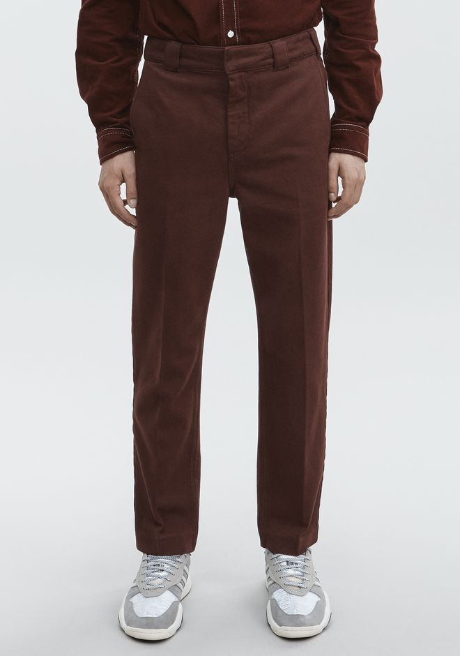 ALEXANDER WANG RODEO DRIVE TROUSER PANTS Adult 12_n_r