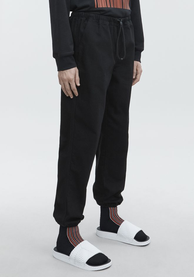 ALEXANDER WANG DENIM CHEF PANT PANTS Adult 12_n_e