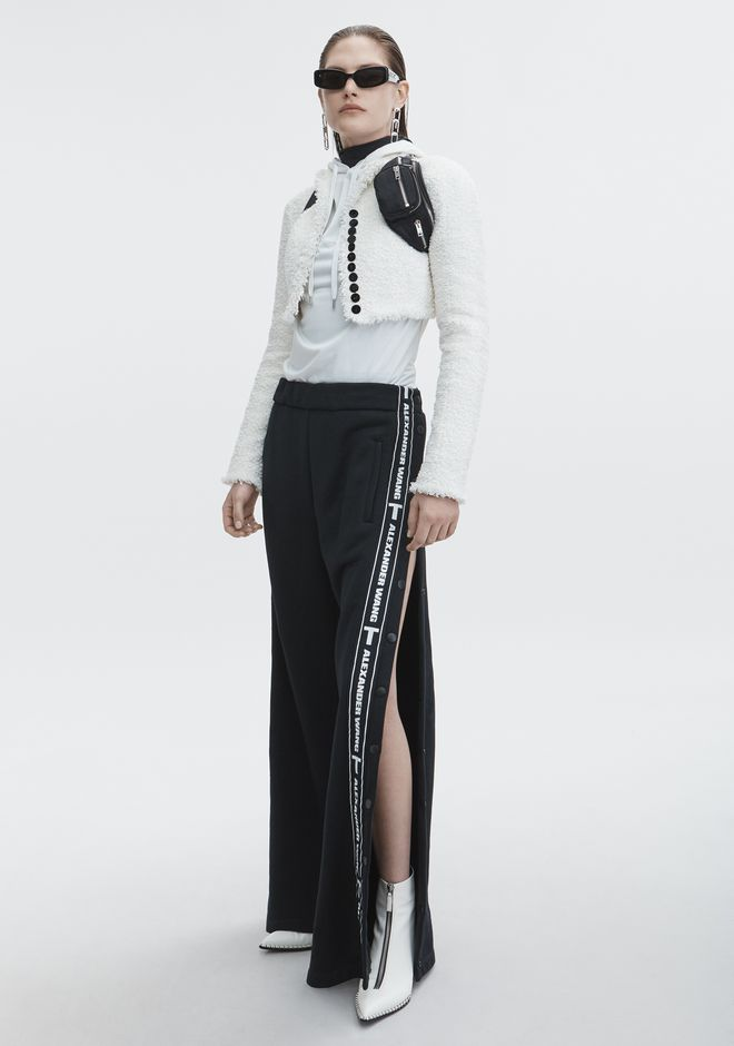T by ALEXANDER WANG PANTS Women LOGO TAPE PULL ON PANT
