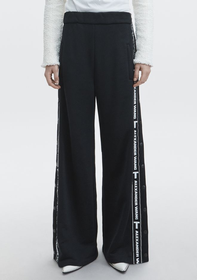 T by ALEXANDER WANG LOGO TAPE PULL ON PANT PANTS Adult 12_n_a