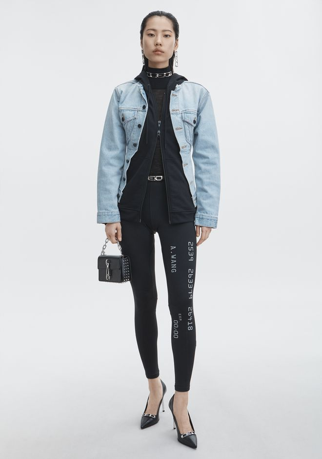 ALEXANDER WANG sale-denim MIX HYBRID JACKET