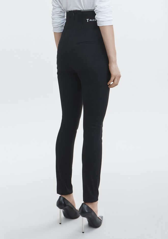 T by ALEXANDER WANG LEGGING WITH LOGO ELASTIC PANTS Adult 12_n_r