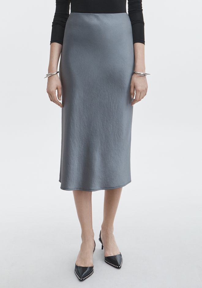 T by ALEXANDER WANG WASH & GO SKIRT SKIRT Adult 12_n_a