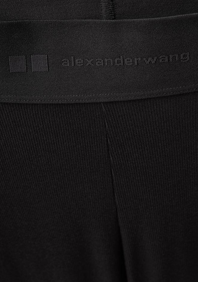 ALEXANDER WANG WOMEN HEATTECH RIBBED LEGGINGS PANTS Adult 12_n_d