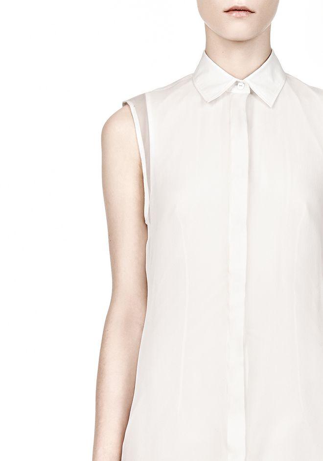 alexander wang double layer shirt dress 3