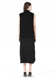 T by ALEXANDER WANG SILK CHFFON OVER CDC SHIRT DRESS 3/4 length dress Adult 8_n_r