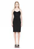 ALEXANDER WANG BUSTIER DRESS WITH CENTER MESH PANEL Short Dress Adult 8_n_f