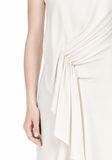 ALEXANDER WANG CASCADE FRONT SLEEVELESS DRESS Short Dress Adult 8_n_d