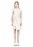 ALEXANDER WANG CASCADE FRONT SLEEVELESS DRESS Short Dress Adult 8_n_f
