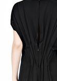 ALEXANDER WANG VACUUM PRESSED IRREGULAR PLEAT BACK DRESS Short dress Adult 8_n_d