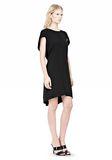 ALEXANDER WANG VACUUM PRESSED IRREGULAR PLEAT BACK DRESS Short dress Adult 8_n_e