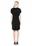 ALEXANDER WANG VACUUM PRESSED IRREGULAR PLEAT BACK DRESS Short dress Adult 8_n_r